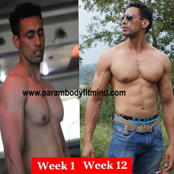ripped body six pack transformation