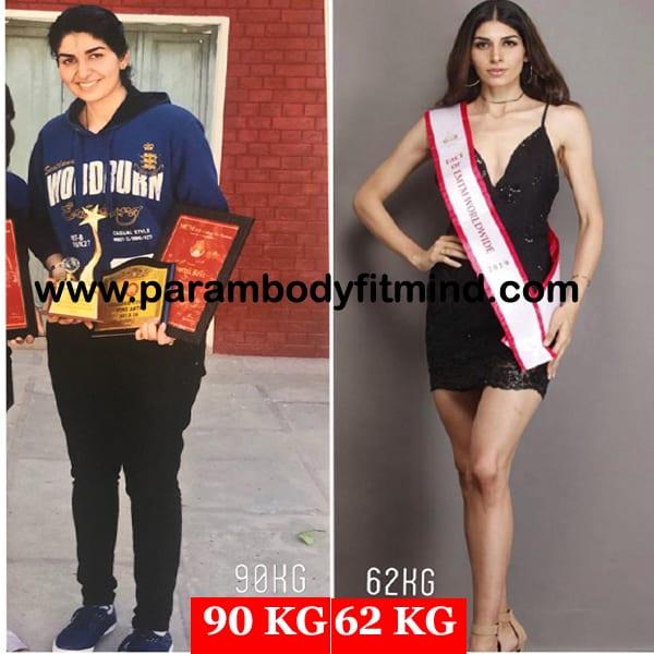 Women Weight Loss Body Transformation