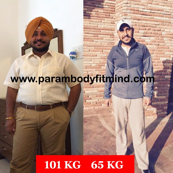 weight loss body transformation