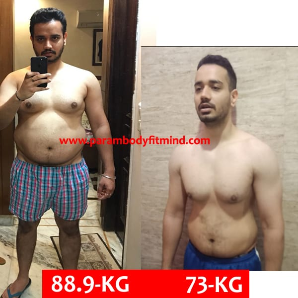 natural weight loss body transformation