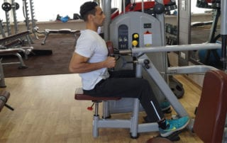 Seated Machine Row