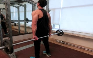 Standing Palms Up Behind The back Wrist Curl - Parambodyfitmind