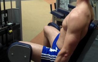 Thigh Abductor (Outer) On Machine Exercise