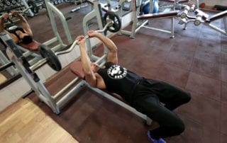 Close Grip Ez bar Skull Crushers Exercise