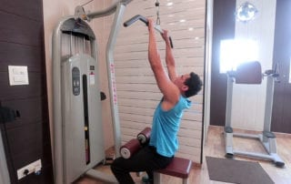Close Grip Front Lat Pull Down