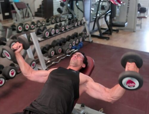Incline Dumbbell Chest Flyes