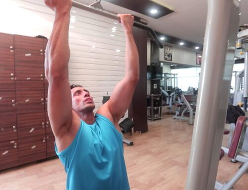 Reverse Close Grip Lat Pull Down