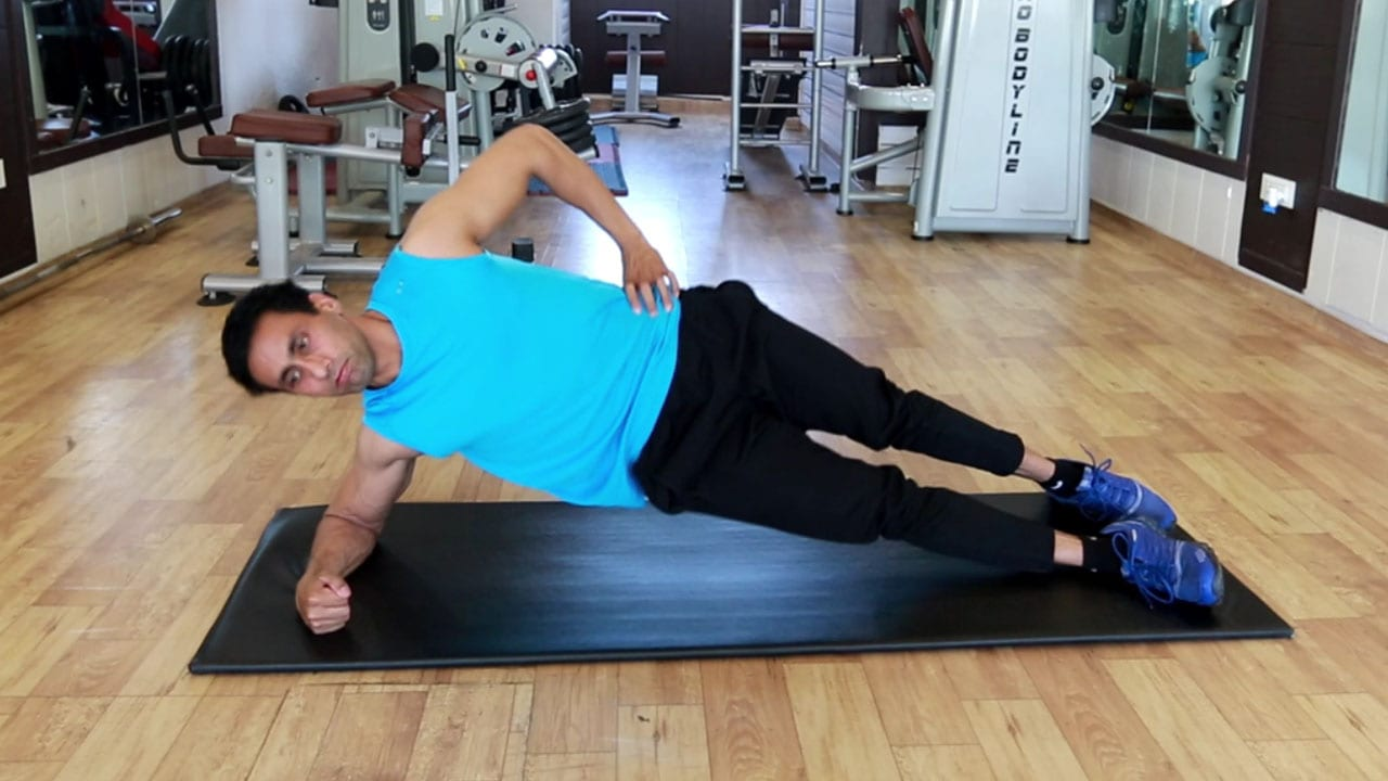 Side Plank Hip Lift | Exercise Guide | Parambodyfitmind