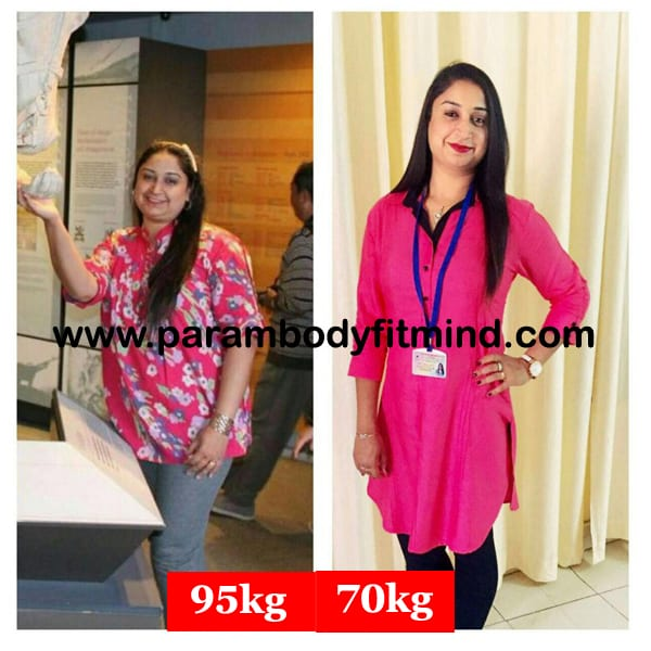female weight loss body transformation