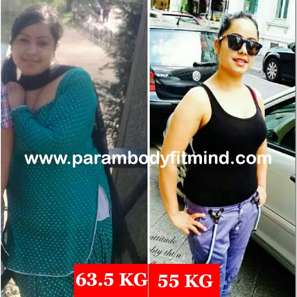 women weight loss before after picture