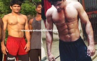 lean body body transformation client review about parambodyfitmind