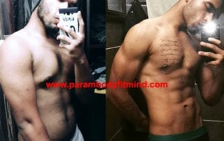 six pack body transformation
