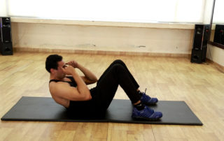 abdominal crunches on mat Exercise