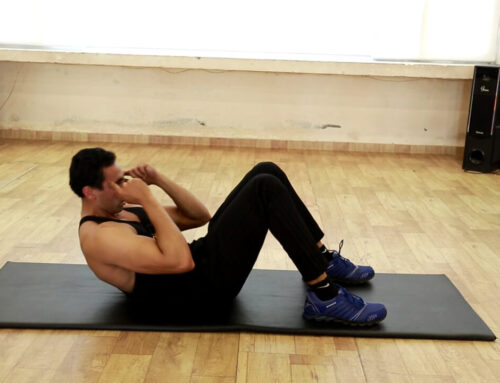 Abdominal Crunches On Mat
