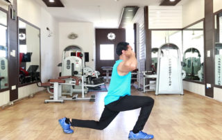 Alternating Jump Lunges