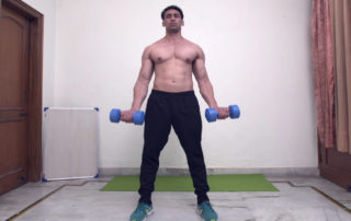 Dumbbell Standing Biceps Curl Exercise