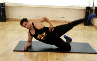 Elbow side plank with leg raise Exercise