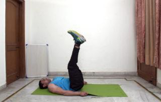 Leg Raise Circle Exercise