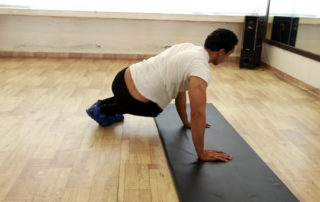 Plank Hops Exercise
