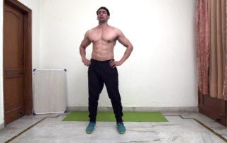 Side to Side Jump Leg Squat