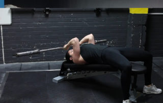 Decline Barbell Skull Crushers Exercise