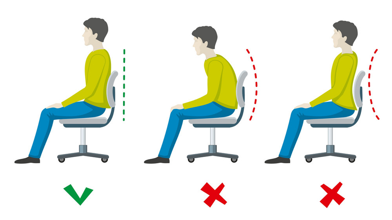 how to sit on chair image guide source google