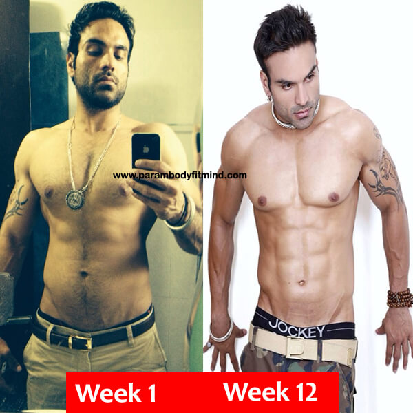 12 week body transformation results