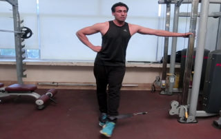 Standing Cable Hip Adduction