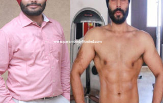 Before and After Body Transformation Picture