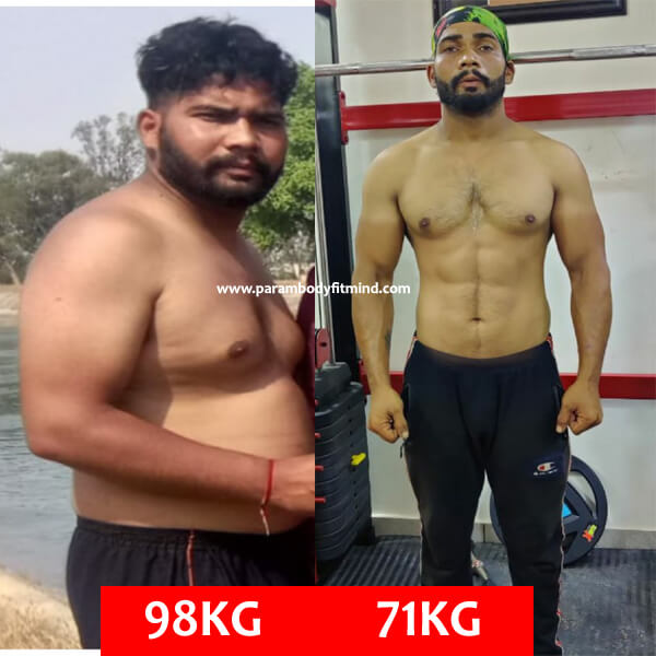 Indian Body Transformation In 6 Months