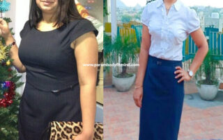 Indian Female Weight Loss Body Transformation