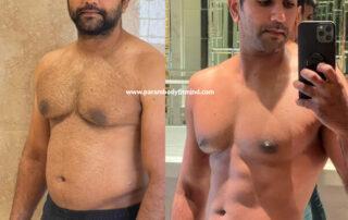8 Week Fat Loss Transformation