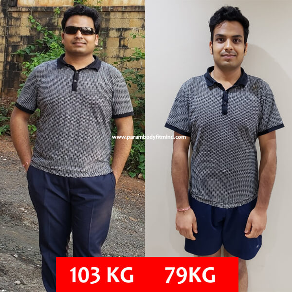 from fat to slim transformation